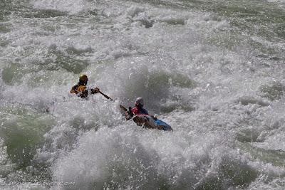 Jake Rehn and Joselin Reeves crushing in Lava, grand canyon, colorado ,Chris Baer