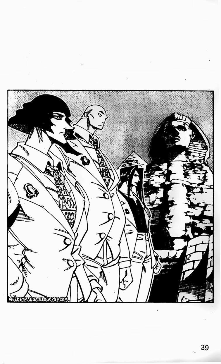 Shaman King [Vua pháp thuật] chap 125 trang 8