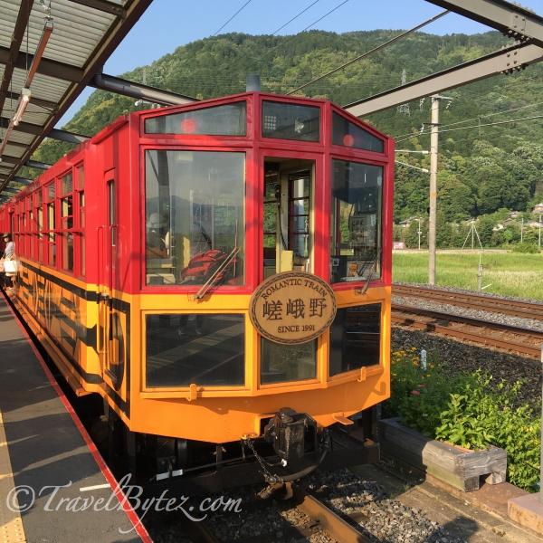 Sagano Scenic Train