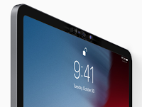 iPad Pros have a 7MP front camera capable of FaceTime