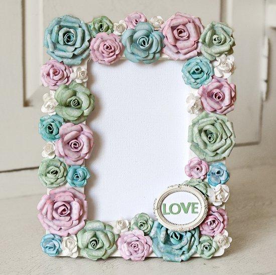 paper flower framed design