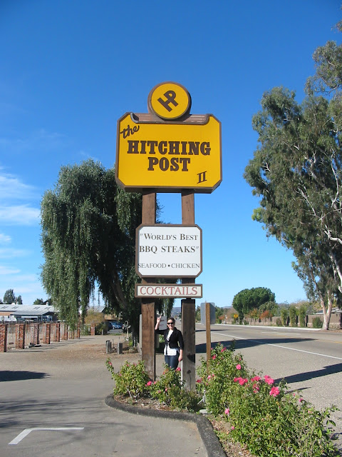Key Stops during a Big Sur Road Trip: The Hitching Post in Solvang, CA