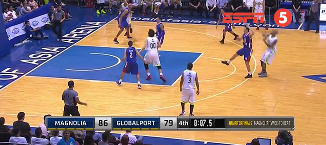 Magnolia eliminates GlobalPort, 86-79 (REPLAY VIDEO) March 6