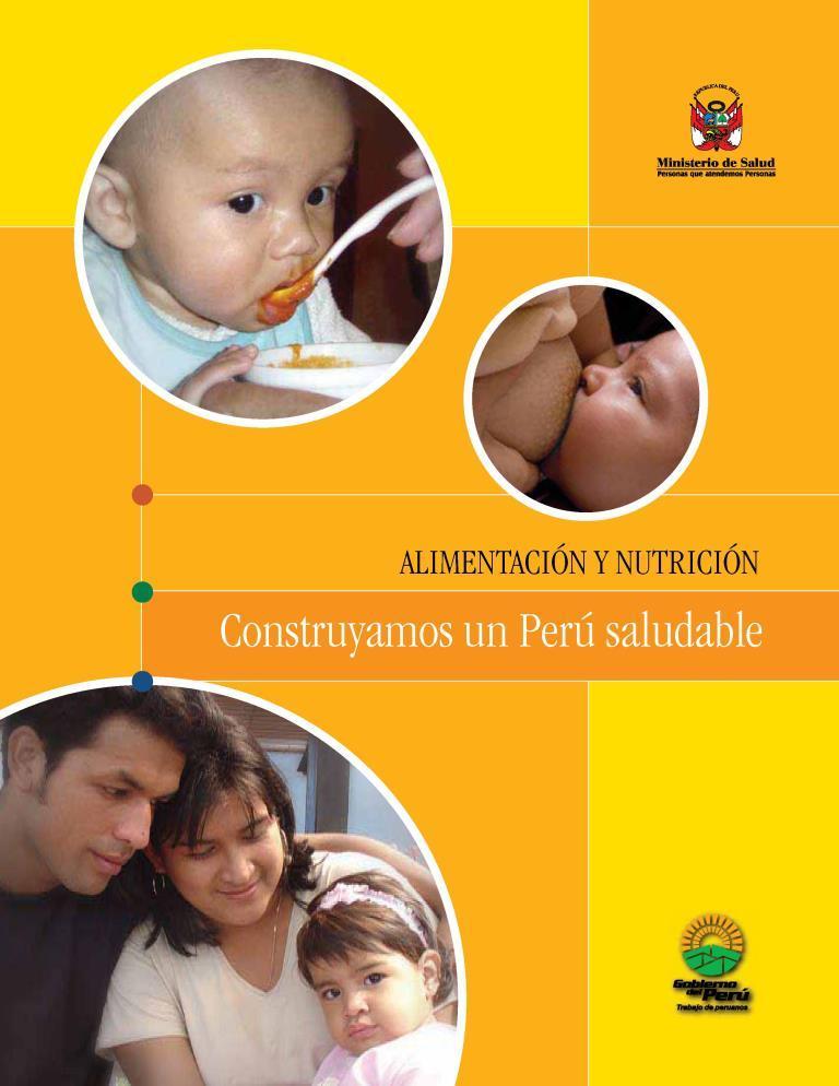 Alimentación y nutrición: Construyamos un Perú saludable