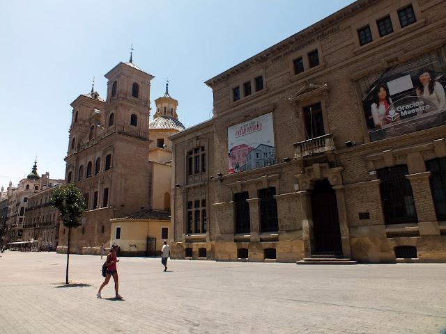 visitar el casco antiguo de Murcia