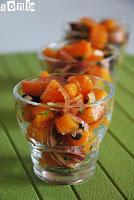 Ensalada de zanahorias con especias