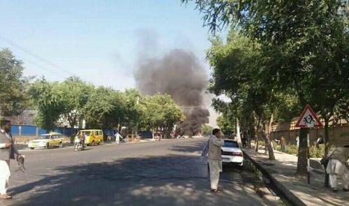 Sprādziens Afganistānas galvaspilsētā Kabulā