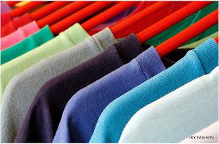 model warna kaos polos kekinian pria dan wanita