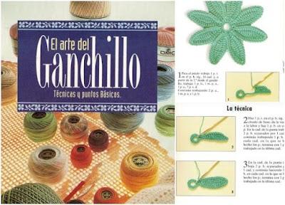 El Arte del ganchillo revista Pdf castellano