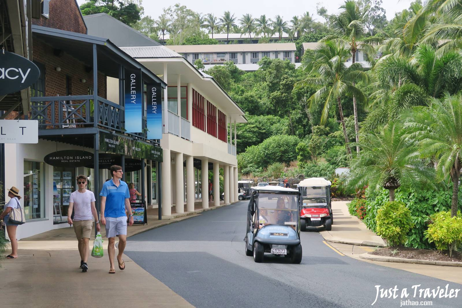 聖靈群島-漢密爾頓島-高爾夫球車-Buggy-景點-推薦-交通-遊記-自由行-行程-住宿-旅遊-度假-一日遊-澳洲-Hamilton-Island-Whitsundays