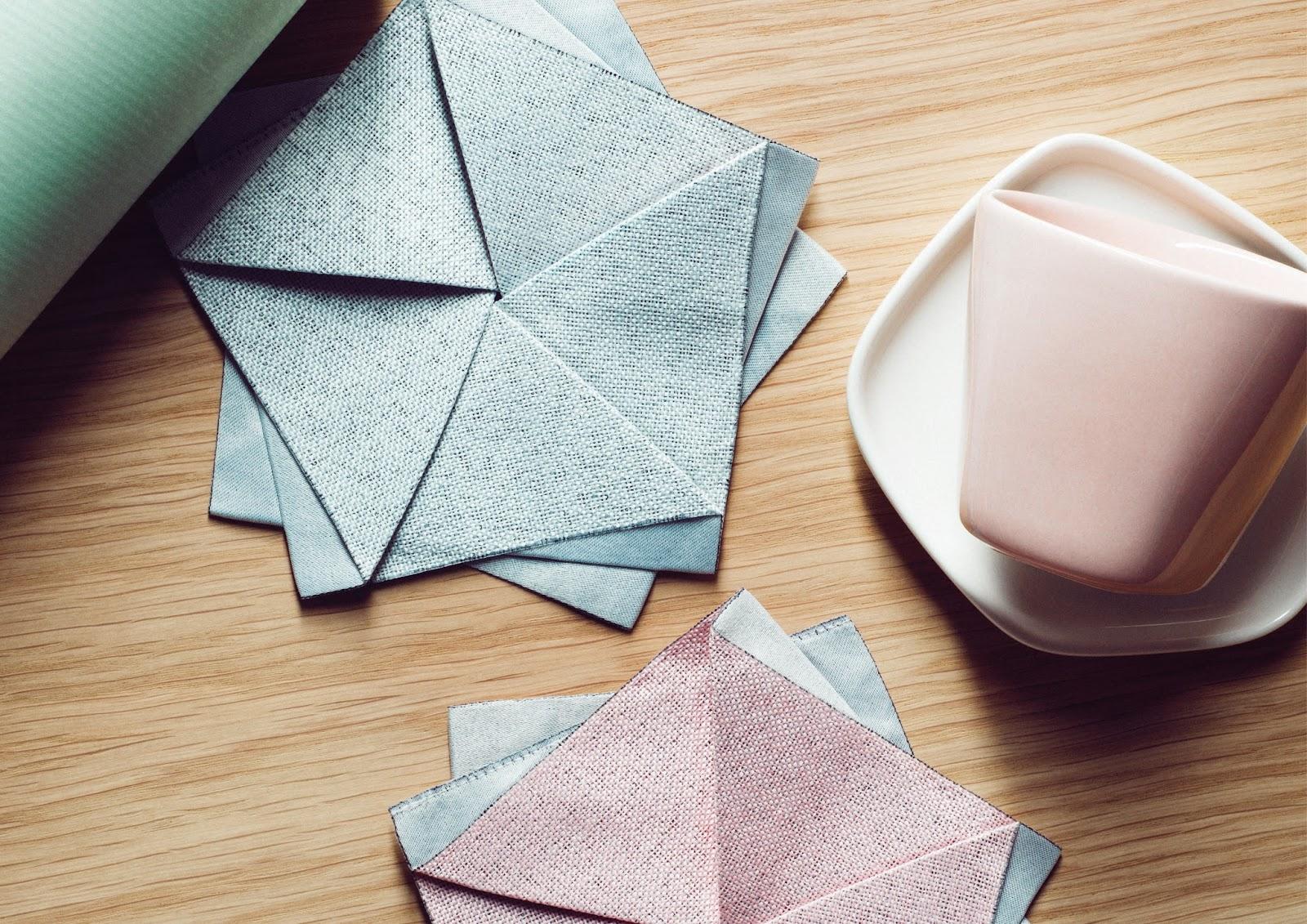 Iittala at Stockholm Design week, Table with 4 Iittala cups on