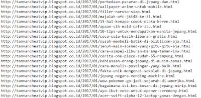 daftar link copypaste