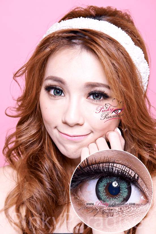 G&G-Blossom-Green Circle Lenses (Colored Contacts)