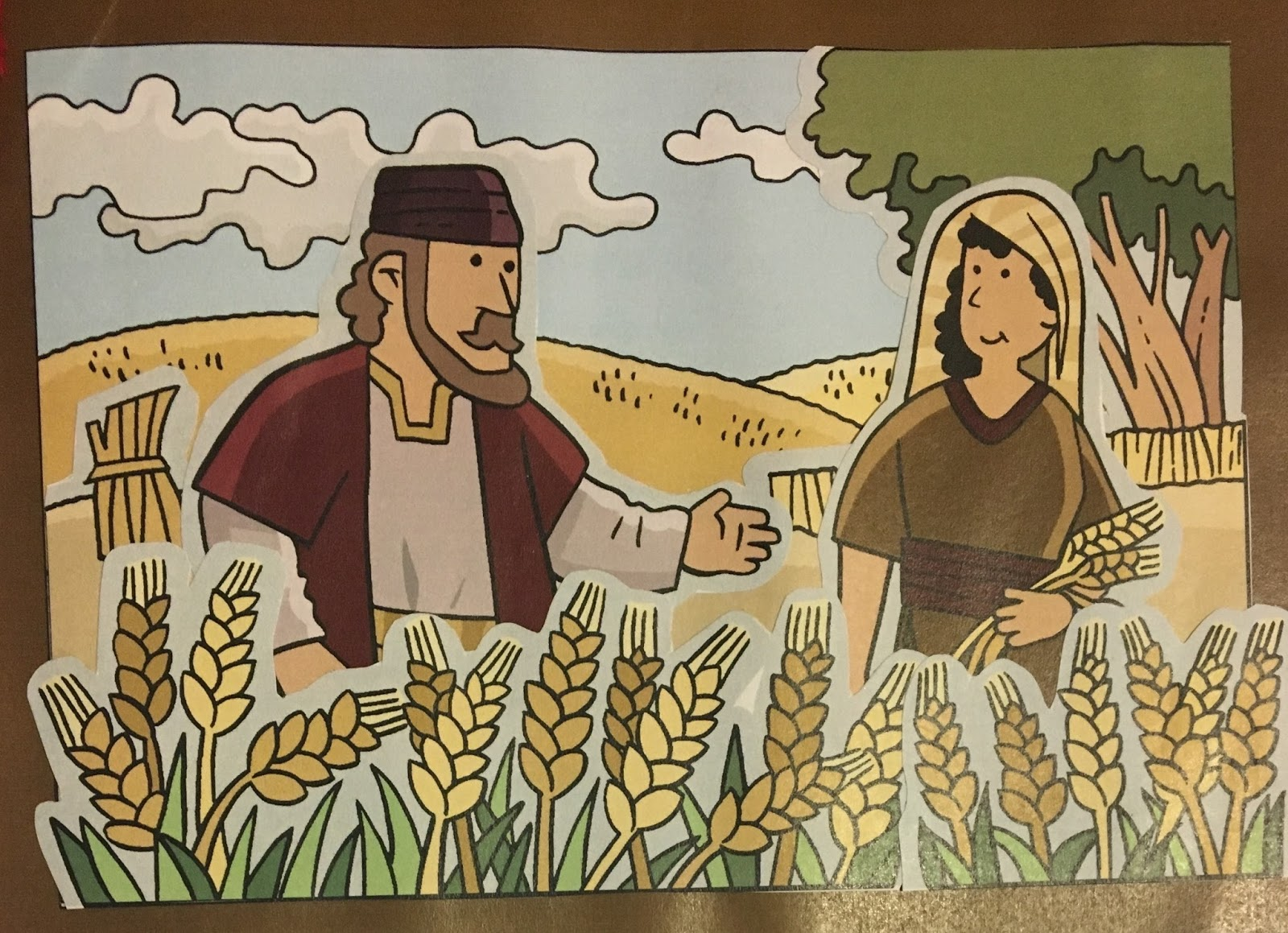 Tabernacle Of Praise Children S Church The Story Of Ruth
