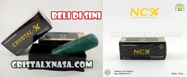 CRISTAL X NASA | Obat Keputihan Asli NCX NASA