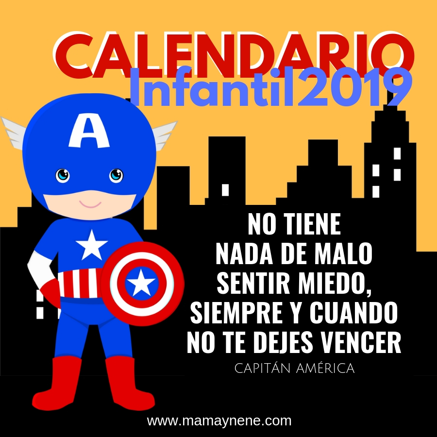 CALENDARIO-2019-MAMAYNENE-FREEBIES-IMPRIMIBLES-SUPERHEROES-FRASES