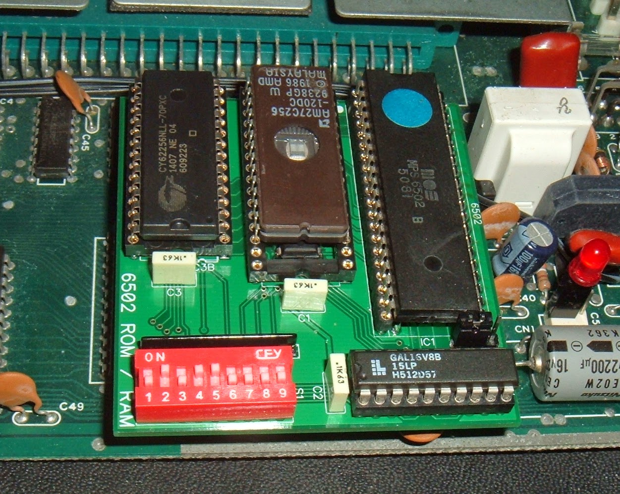 Tynemouth Software: Commodore Pet ROM/RAM replacement boards