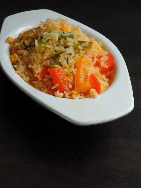 Gluten Free Mexican Fried rice