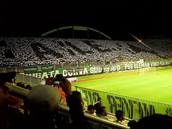 Persija Vs PSS Image: Ultras-Tifo Forum -> Asia & Australia September/October