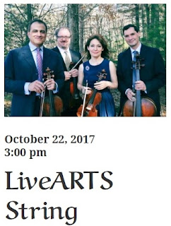 LiveARTS String Quartet - Oct 22
