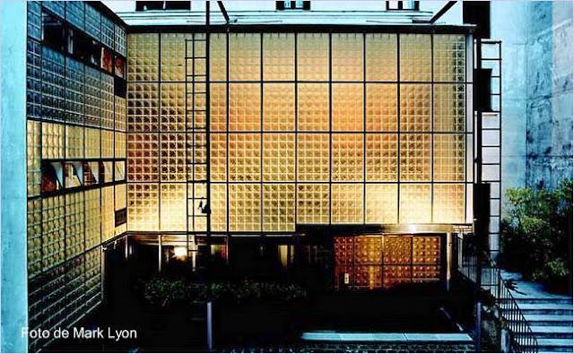 Casa Moderna de vidrio en París, Francia año 1931
