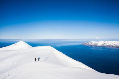Nieve en Islandia en abril