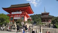 Visiting Kyoto, Japan