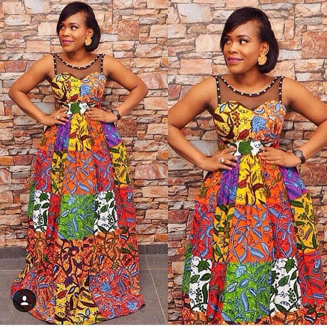 elegant, Ankara, African dresses, Fashion ,Designs