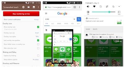 aplikasi android penangkap layar