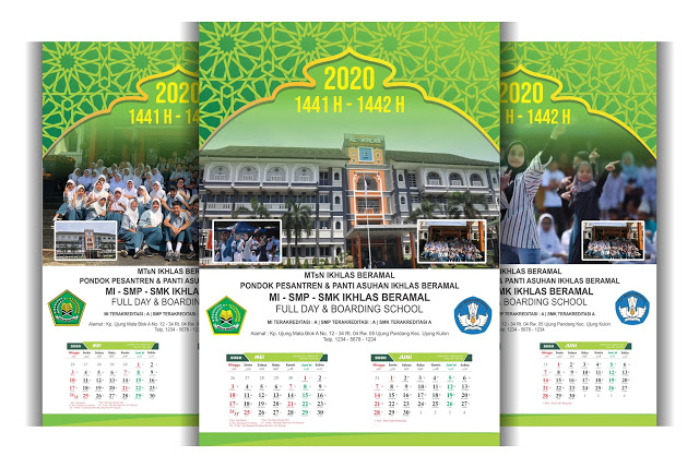 Download Template Kalender 2020