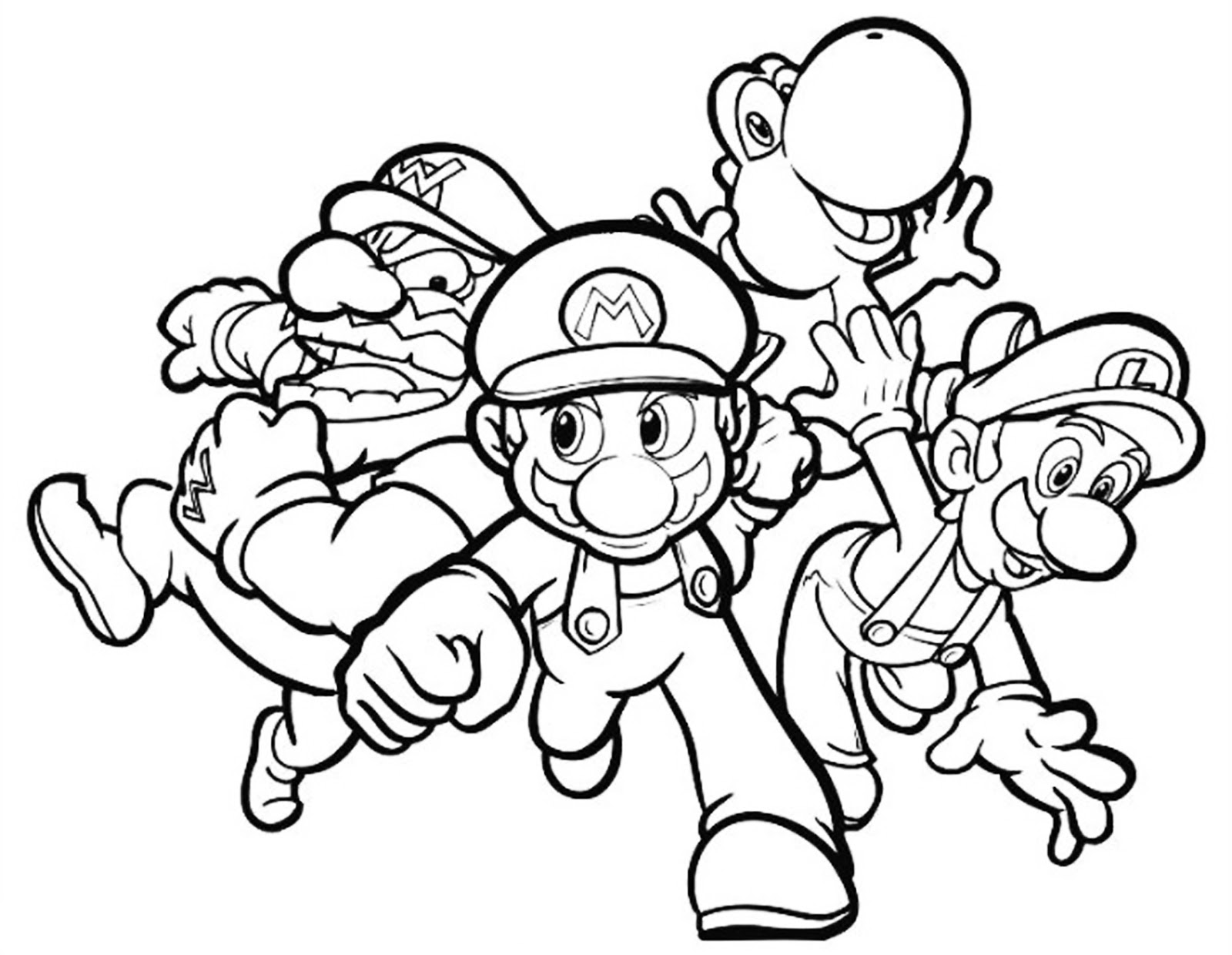 Click And Print To A4 Colouring Page
