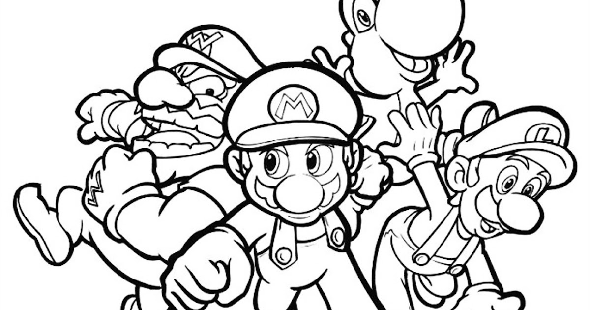 Adult Video Game Colouring Pages For You To Print And Colour