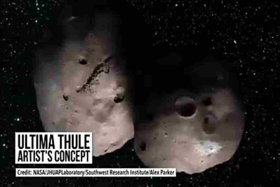 New Horizons Cruising Towards Ultima Thule