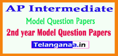 AP Intermediate 2nd year Model Question Papers