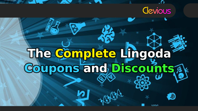 The Complete Lingoda Coupons & Discounts - Clevious Coupons
