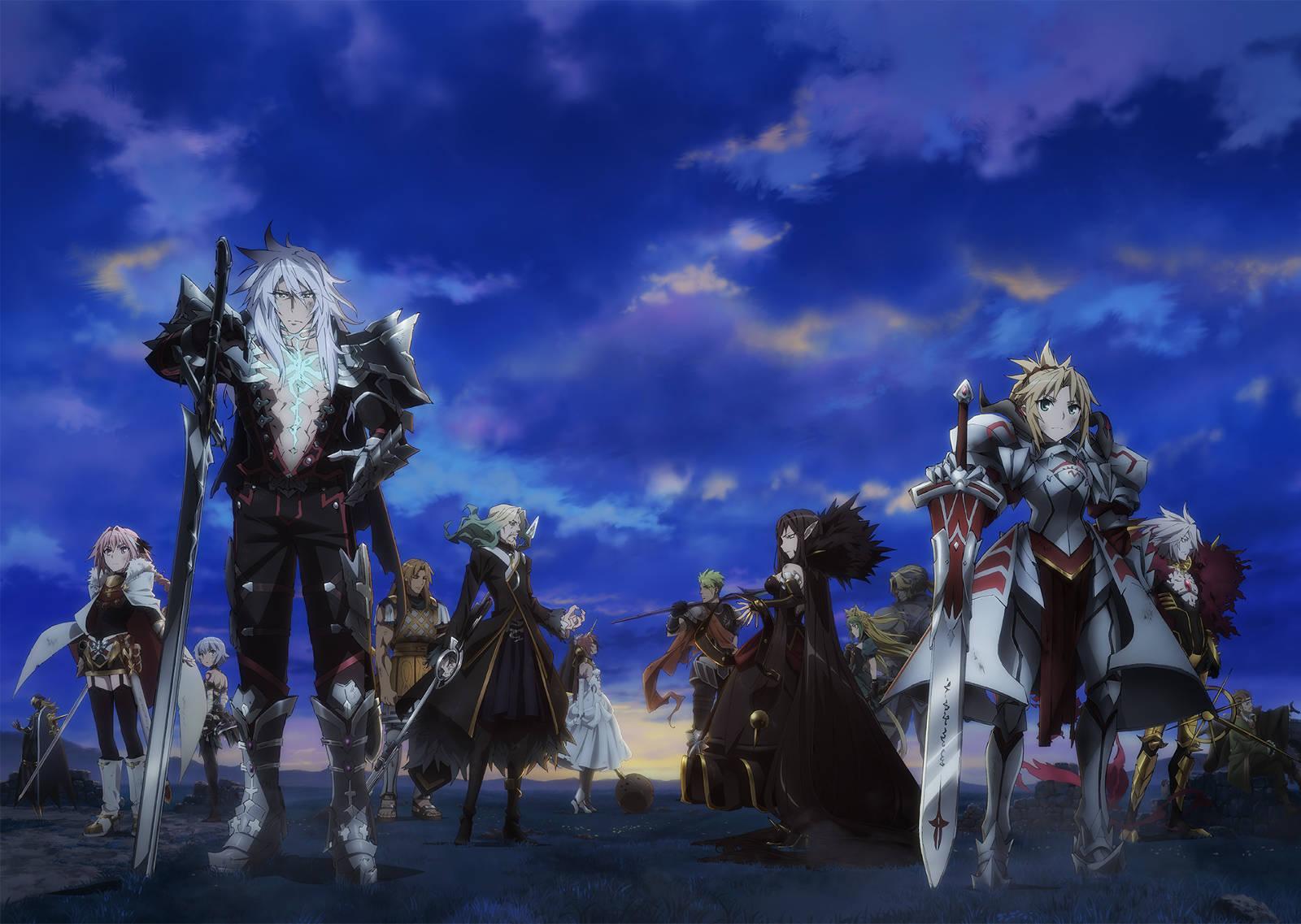 Fate/Apocrypha - Dwie frakcje bohaterów
