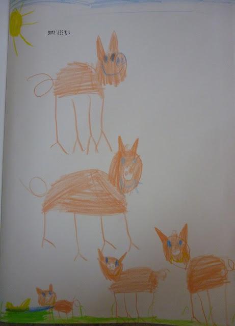 Schwein zeichnen Malen mit Kindern