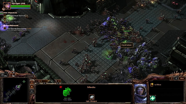 StarCraft 2 | Zerg Swarm with Medic