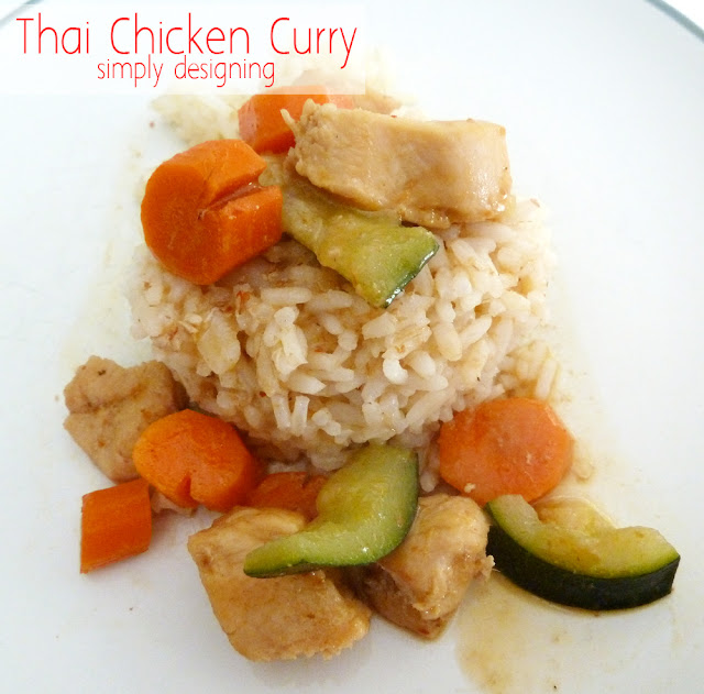 Thai Chicken Curry Recipe #recipe #thai #curry #dinner #successrice #ad