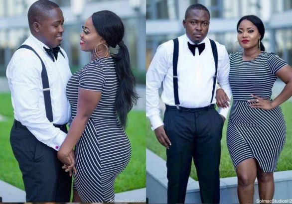 Cute pre-wedding photos of a nurse and her doctor fiancé
