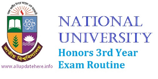 NU Honors 3rd Year Exam Routine