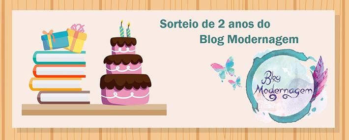 Sorteio: 2 anos do blog Modernagem