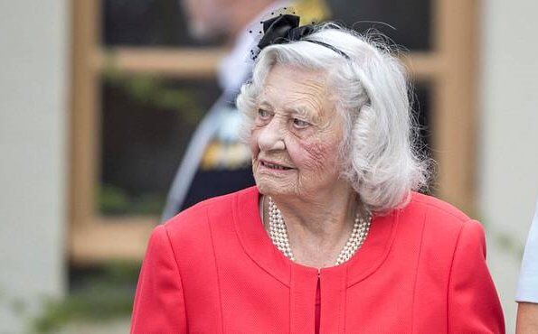 Dagmar von Arbin, née Countess Dagmar Bernadotte af Wisborg, passed away at the age of 103 at Nockebeyhemmet