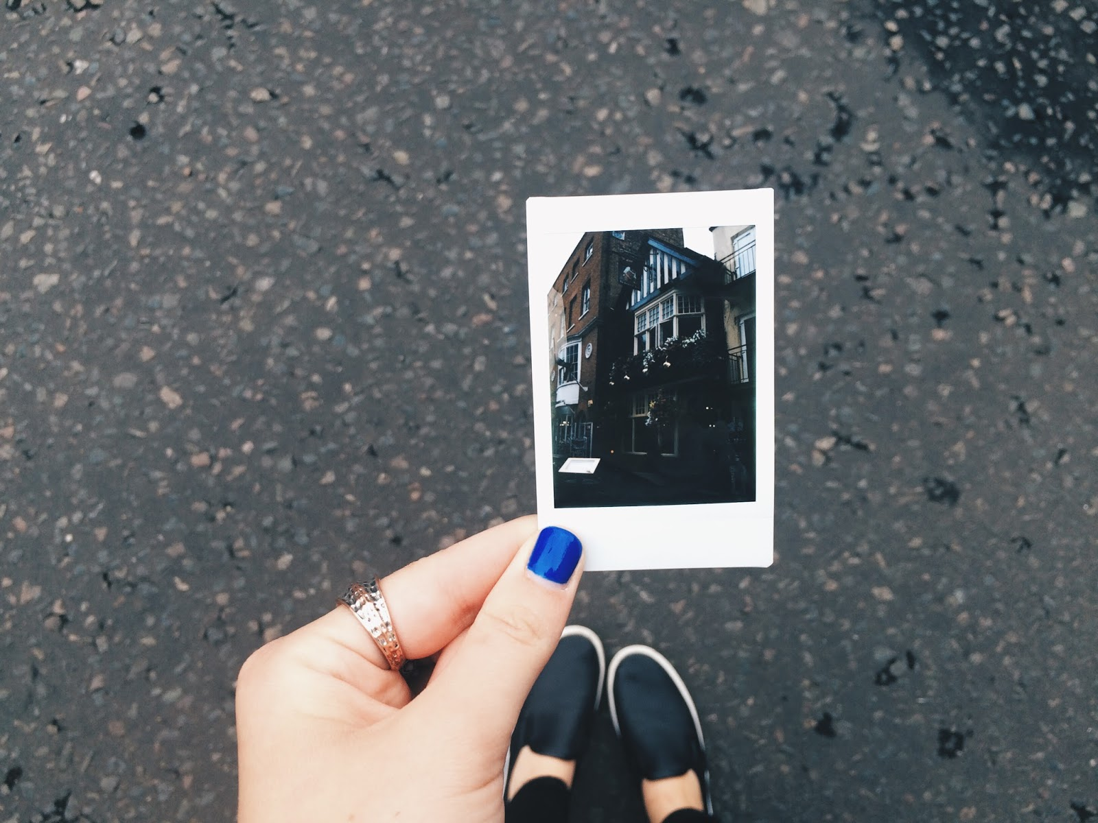 Polaroid of Windsor Streets
