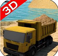 شاحنة النقل: الرمل النهري River Sand.apk
