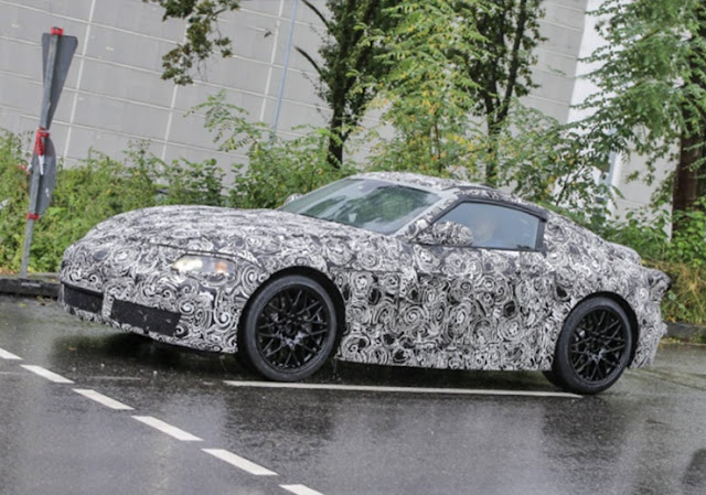 2018 Toyota Supra Spy Photos