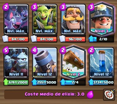2 Mazo con Mortero  Clash Royale