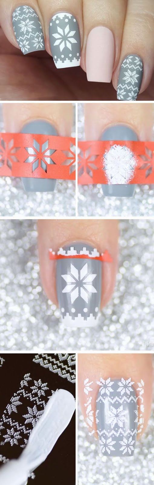 Winter Themed Nail Art That Are Down Right Fabulous