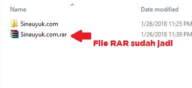 file hasil compress winrara