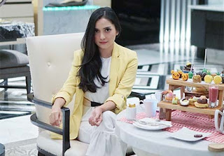 Fatmasury pemeran Aliya di Kasih Sepanjang Masa